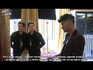 One Direction's Official 2013 Teen Vogue Cover Shoot - Teen Vogue [RusSub]